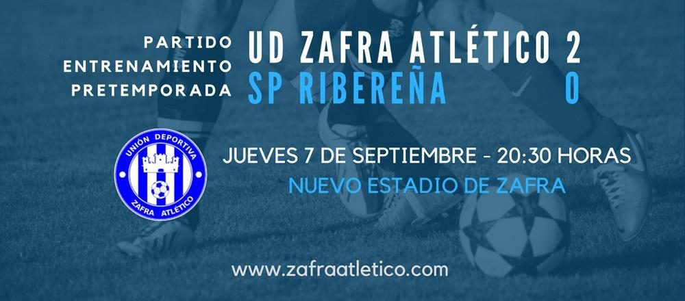 Zafra Atlético vs SP Ribereña