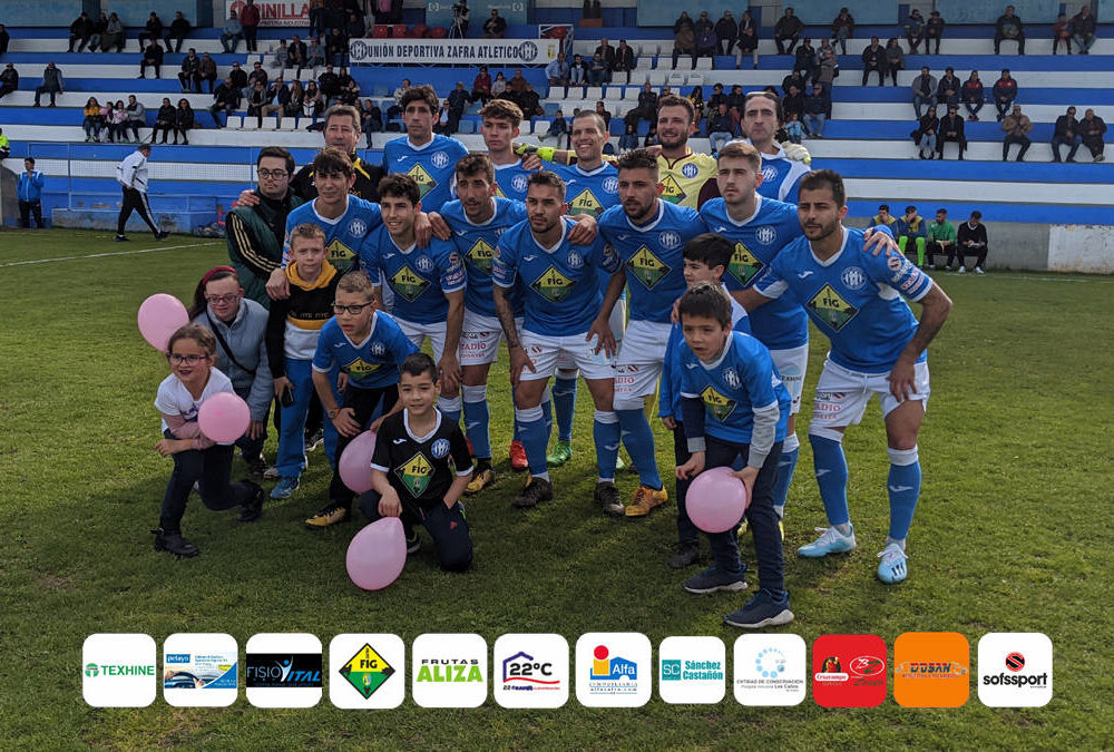 Equipo titular del UD Zafra Atlético ante el CD Santa Amalia