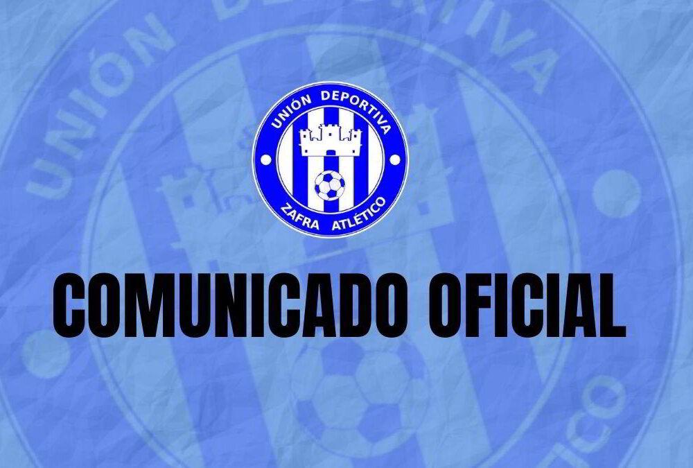 Comunicado Oficial del Club