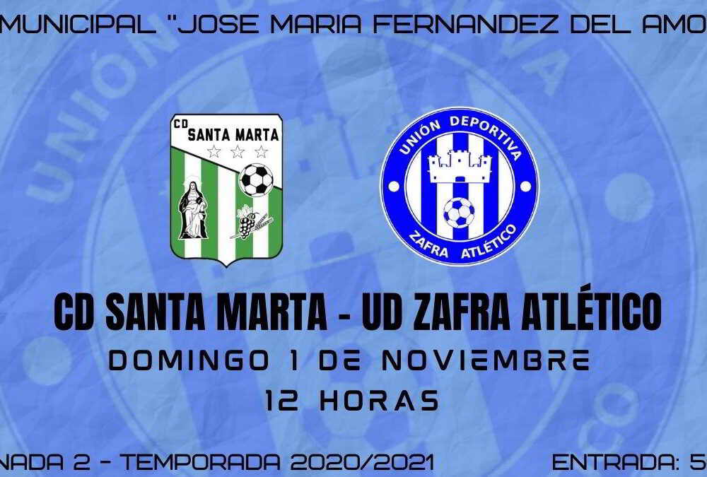 Horario del partido Santa Marta - Zafra Atlético