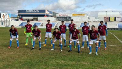 11 Inicial del Zafra Atlético ante el CP Oliva