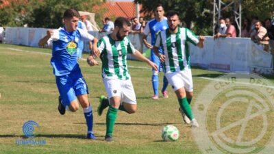 Jugada del CD Santa Marta vs CD Zafra
